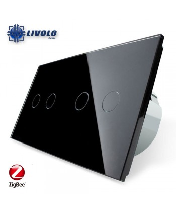 Livolo Tweevoudig Enkelpolig-Tweepolig 2-2 - ZigBee
