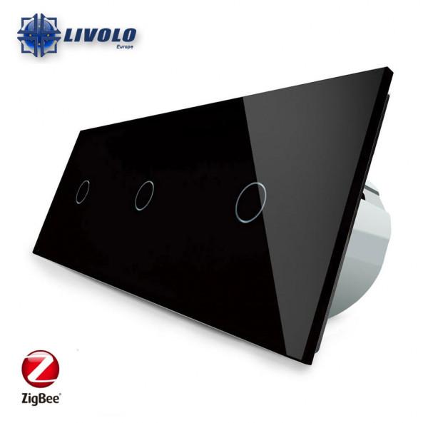 Livolo Triple 1-1-1 - ZigBee