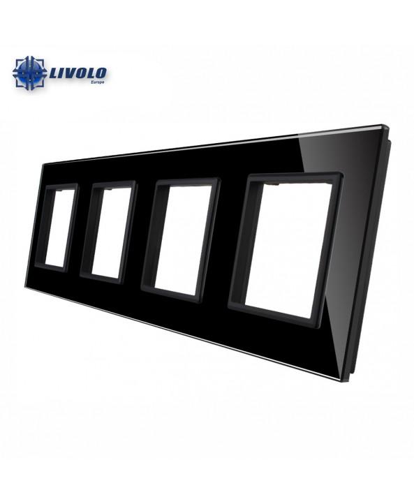Livolo Quadruple Crystal Panel