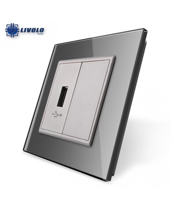 Livolo USB Wandcontactdoos