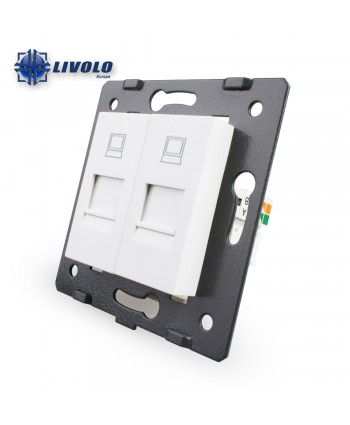 Livolo Dubbel Computer LAN - Module