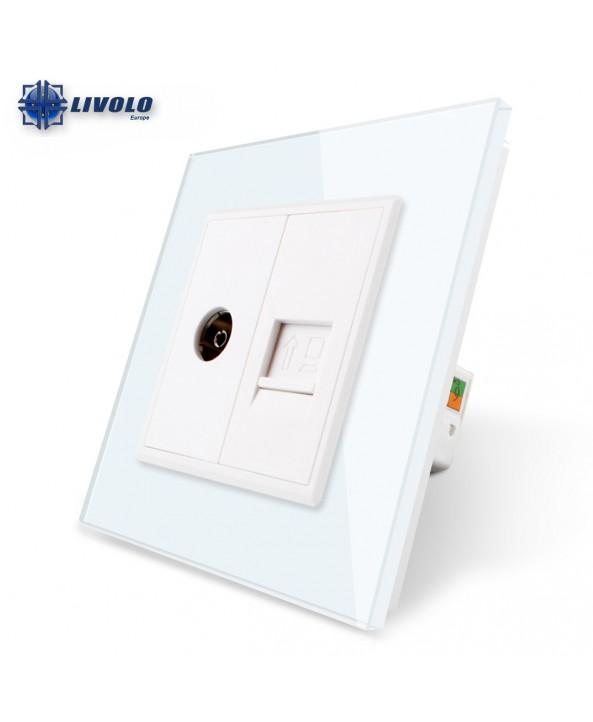Double COM / TV - Socket