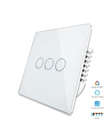 3 Gang - 1/2 Way | Wifi Smart Switch